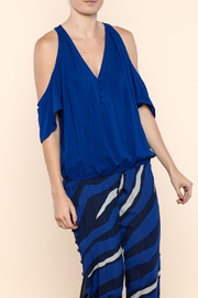 Khush Clothing Blue Nixie Top - Product Mini Image