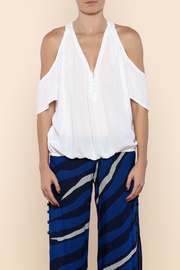 Khush Clothing White Nixie Top - Side cropped