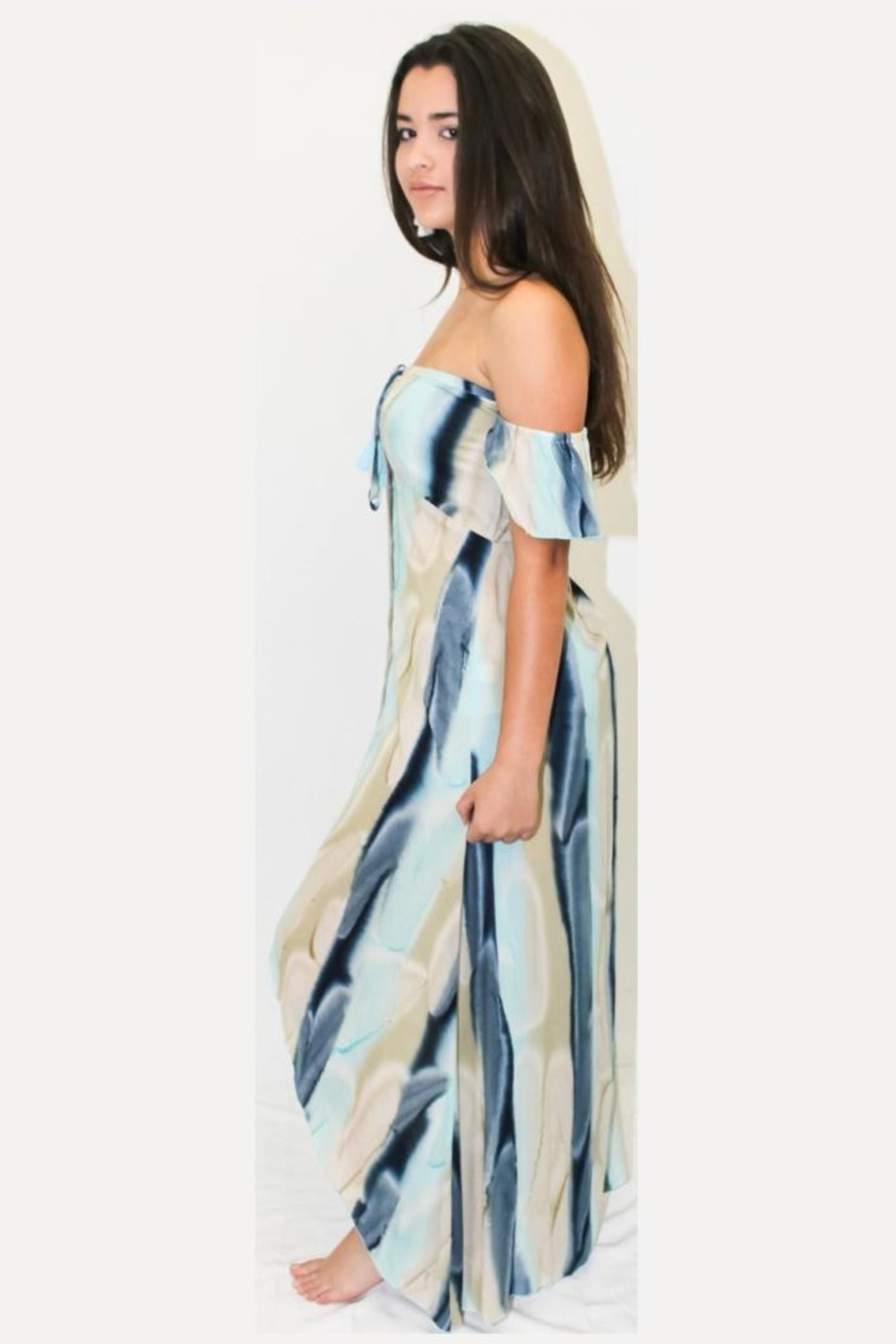 Khush Clothing Glow Maxi Dress - Front Full Image