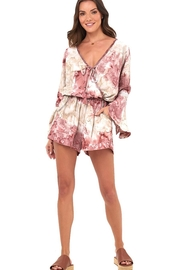 Khush Clothing Kaia Beaded Romper - Side cropped