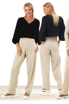 Khush Clothing Mercury Linen Pants - Alternate List Image