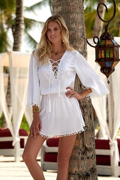 Melissa Odabash Kiah White Dress - Product List Image