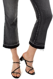 Liverpool  Kick-Flare Crop Pant - Front full body