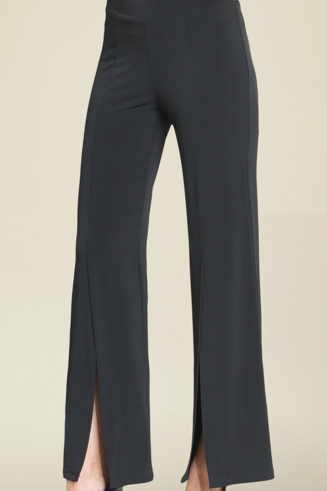 Clara Sunwoo Soft Knit Pants - Front Cropped Image