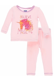 Kickee Pants Believe In Magic-Pj-Set - Product Mini Image