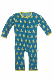 Kickee Pants Frog Prince Coverall - Product Mini Image