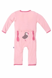 Kickee Pants Coverall Lotus Puffin - Product Mini Image