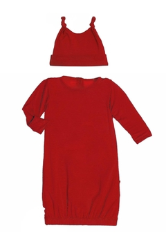 Shoptiques Product: Crimson Gown & Hat-Set