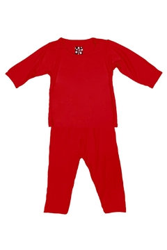 Shoptiques Product: Crimson Pj-Set Toddler