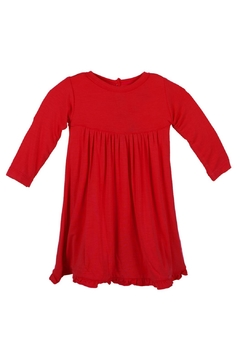 Kickee Pants Crimson Swing-Dress Toddler - Alternate List Image