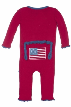 Shoptiques Product: Flag Ruffle Coverall