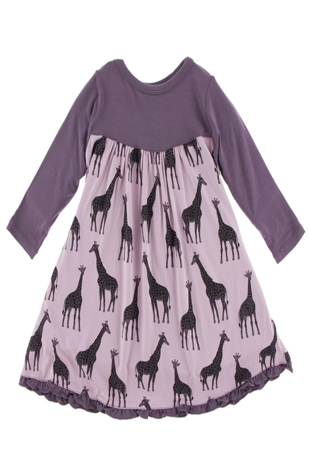Kickee Pants Giraffe Swing Dress - Main Image