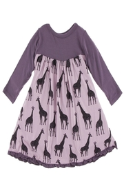 Kickee Pants Giraffe Swing Dress - Front cropped