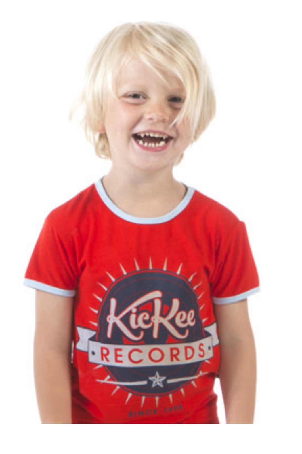 Kickee Pants Jazz Record Tee - Main Image