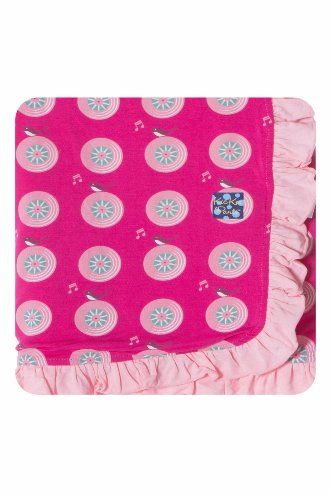 Kickee Pants Songbird Stroller-Blanket - Front Cropped Image