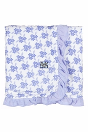 Kickee Pants Floral Stroller Blanket - Front cropped