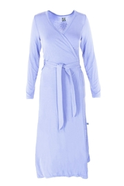 Kickee Pants Lilac Bamboo Robe - Product Mini Image