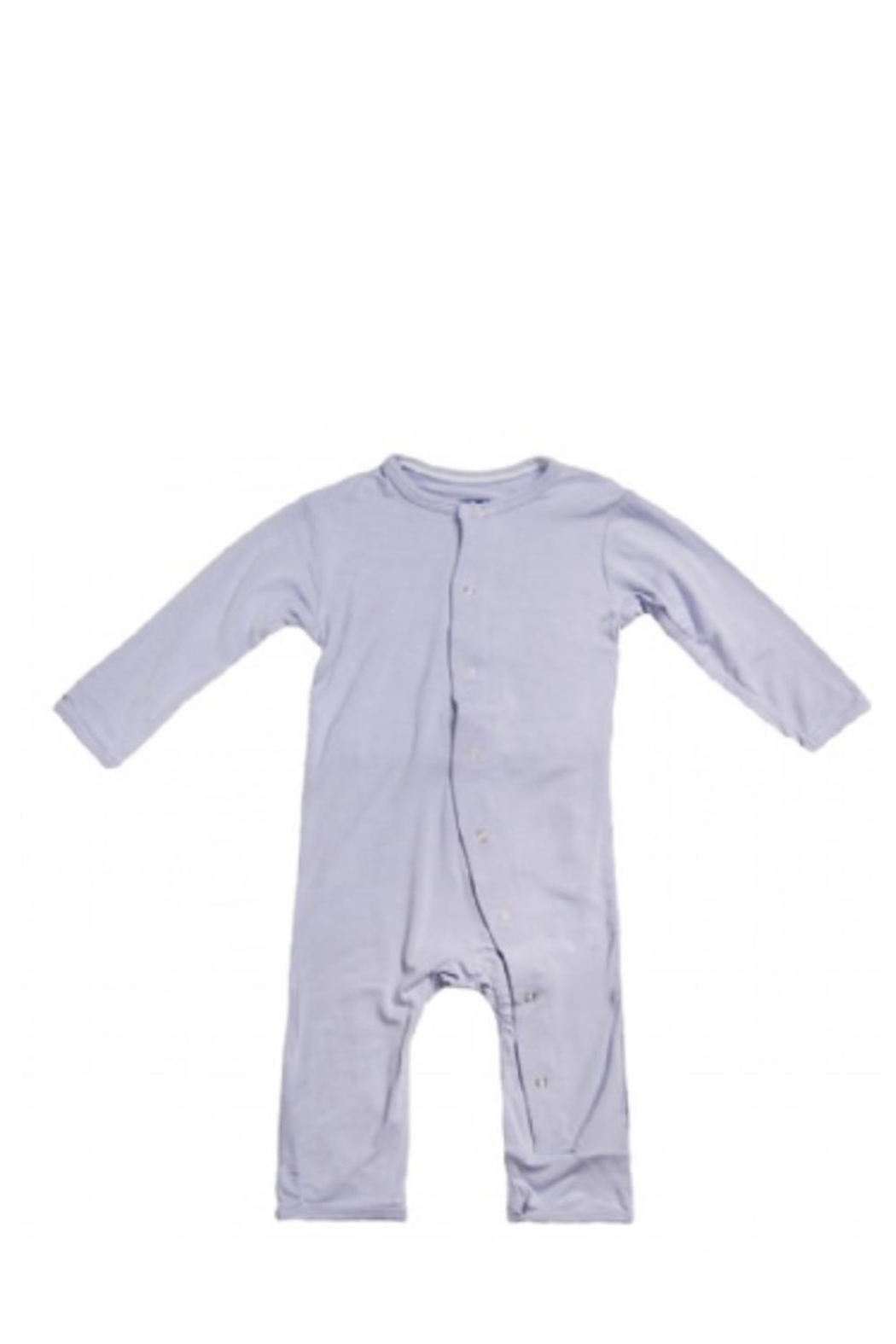 Kickee Pants Lilac Coverall - Front Cropped Image