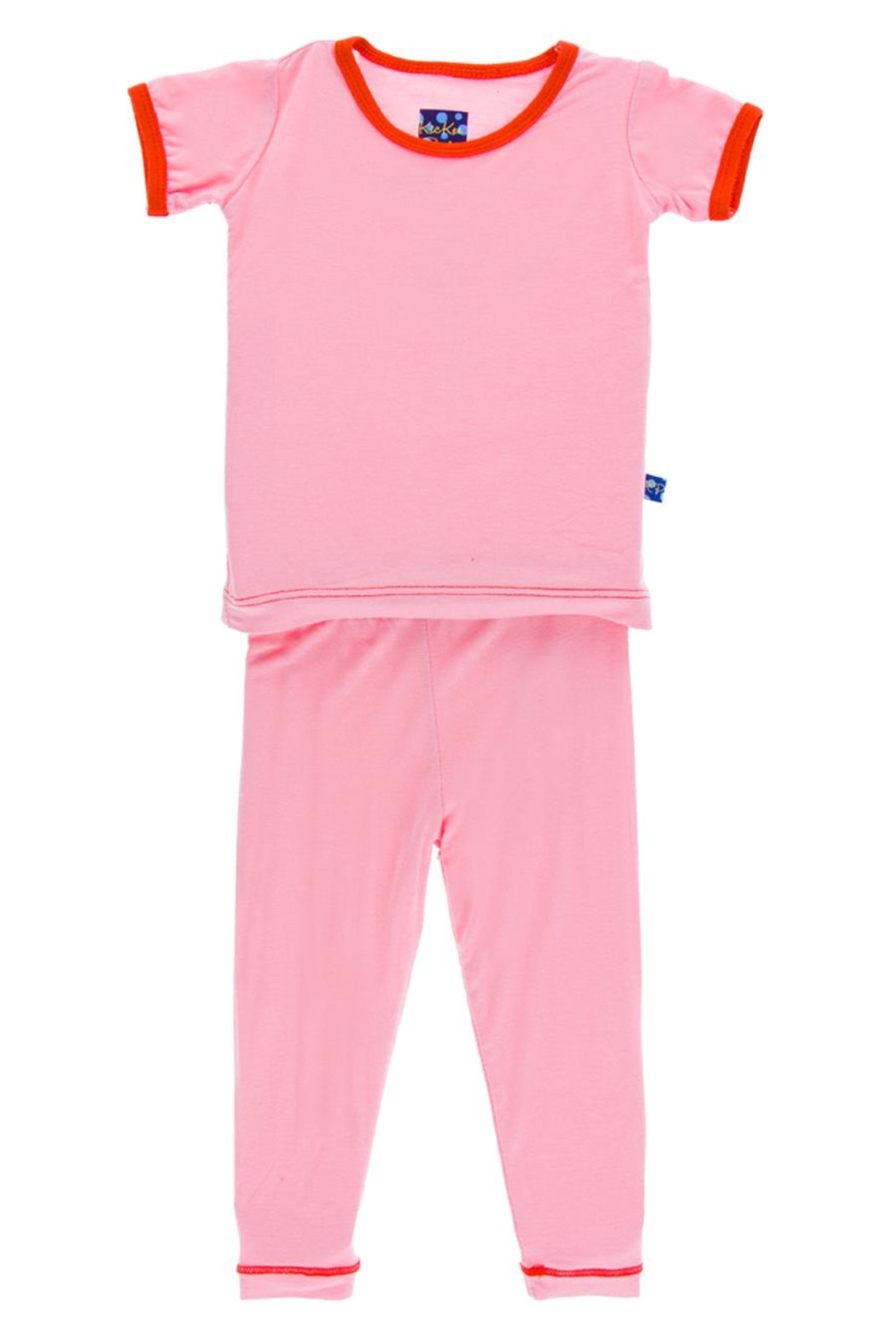 Kickee Pants Lotus-Poppy Pj Set-Infant - Main Image