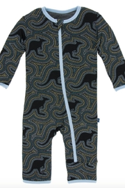 Kickee Pants Midnight Kangaroo Coverall - Product Mini Image