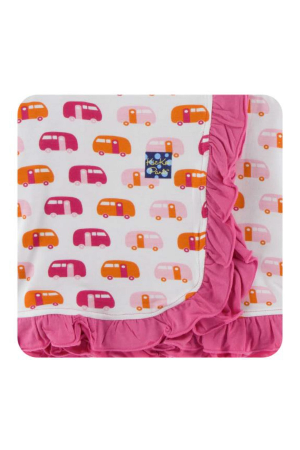 Kickee Pants Natural Camper Toddler-Blanket - Main Image