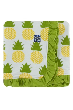 Shoptiques Product: Natural Pineapple Toddler-Blanket