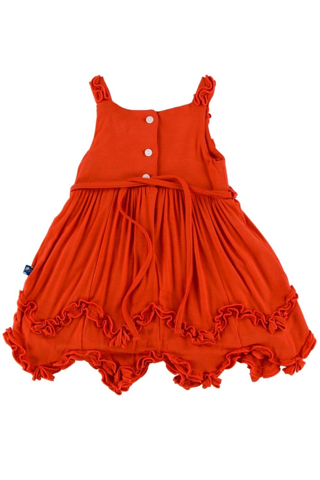 Kickee Pants Poppy Dress & Bloomer-Infant - Front Full Image