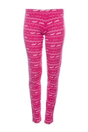 Kickee Pants Pink Girly Legging - Product Mini Image