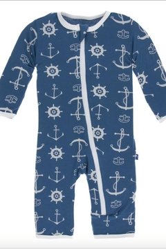 Shoptiques Product: Print Coverall Withzipper