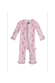 Kickee Pants Print Ruffle Coverall - Product Mini Image