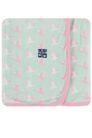 Kickee Pants Print Swaddling Blanket - Product Mini Image