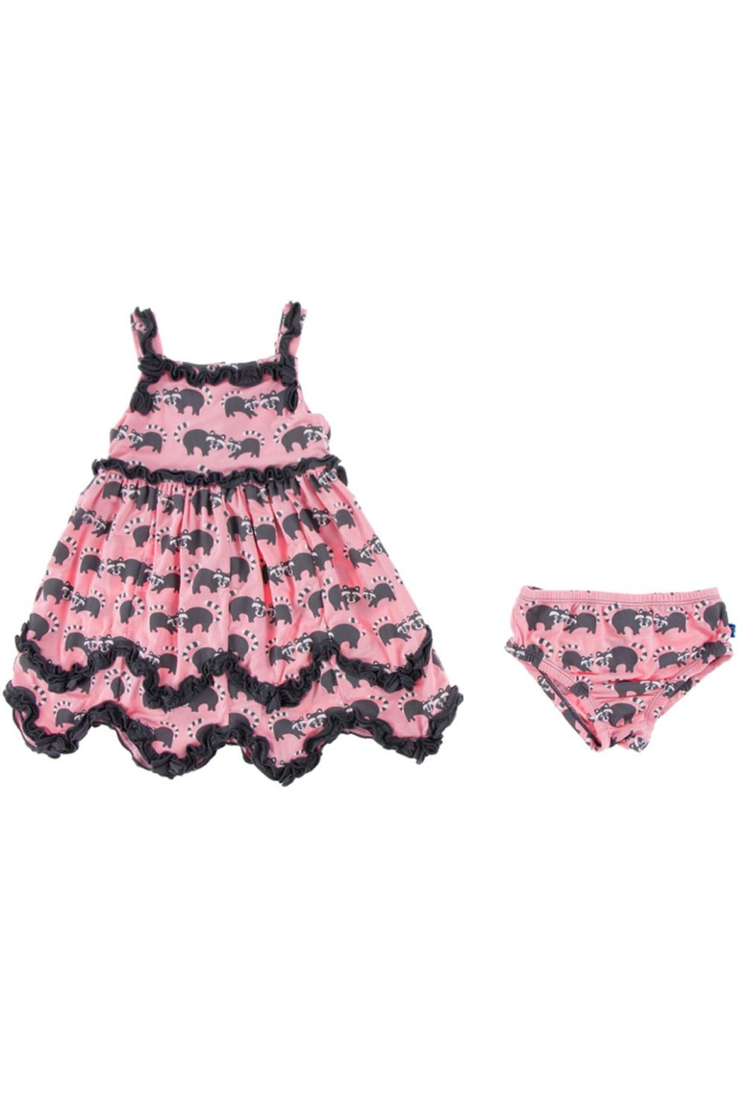 Kickee Pants Raccoon Dress & Bloomer-Toddler - Side Cropped Image