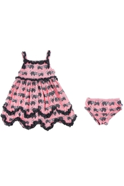 Kickee Pants Raccoon Dress & Bloomer-Toddler - Side cropped
