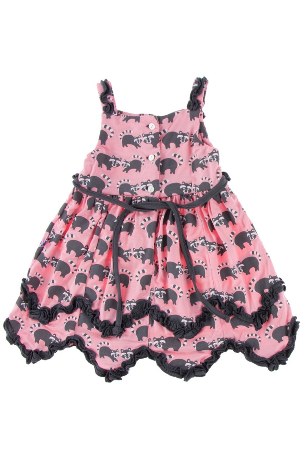 Kickee Pants Raccoon Dress & Bloomer-Toddler - Front Full Image