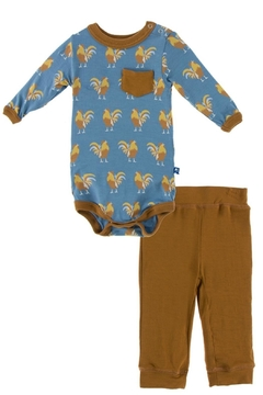 Shoptiques Product: Rooster Onesie Set