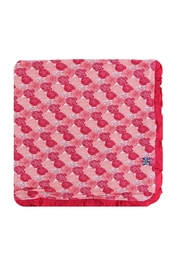 Kickee Pants Roses Toddler Blanket - Front cropped
