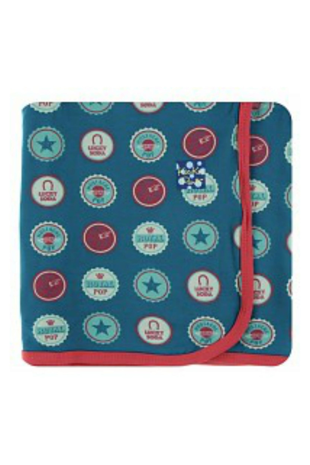 Kickee Pants Sodapop Caps Toddler-Blanket - Main Image