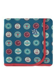 Kickee Pants Sodapop Caps Toddler-Blanket - Front cropped