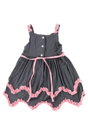 Kickee Pants Stone Dress & Bloomer-Child - Front full body