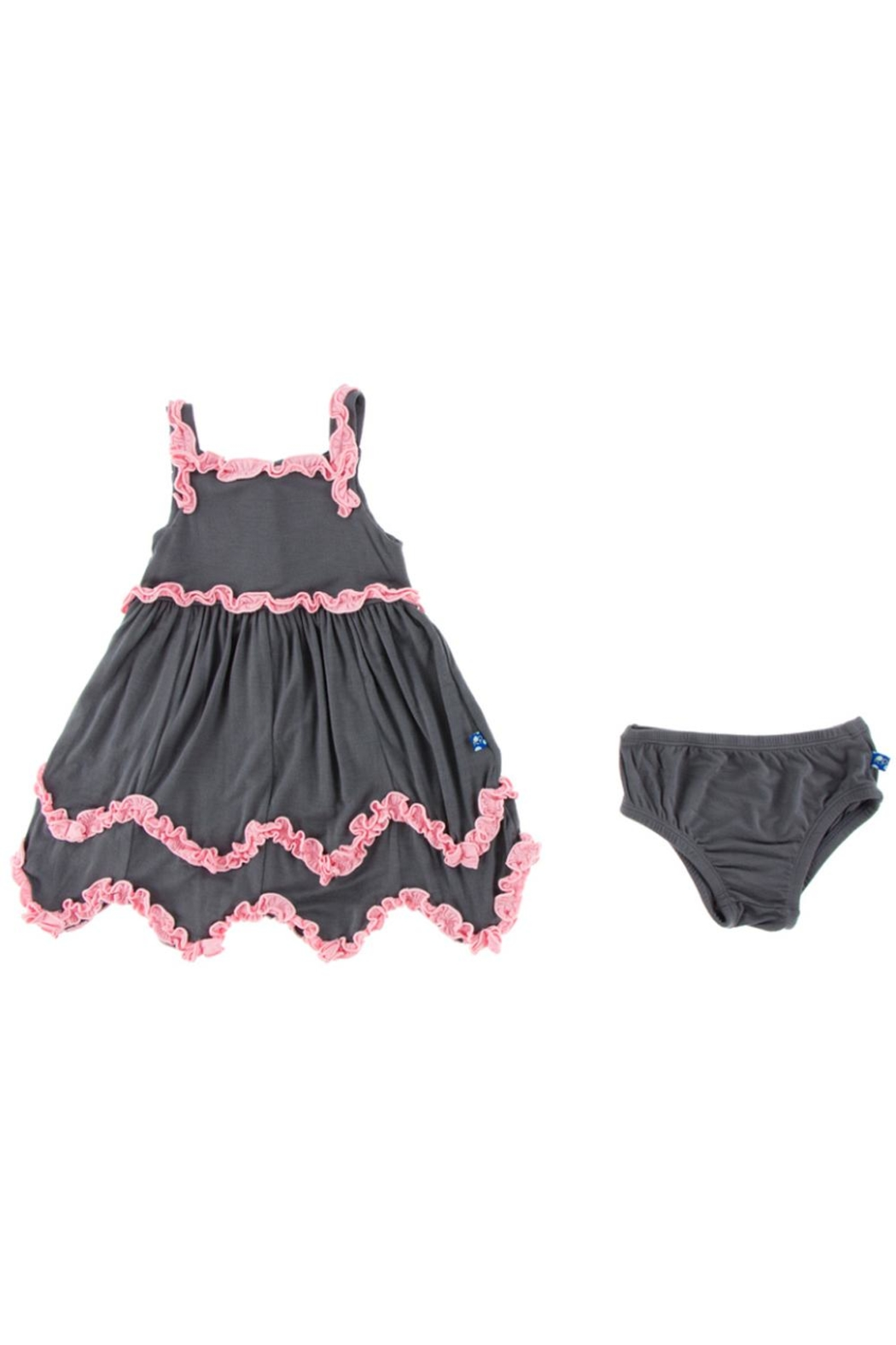 Kickee Pants Stone Dress & Bloomer-Child - Side Cropped Image