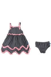Kickee Pants Stone Dress & Bloomer-Infant - Side cropped