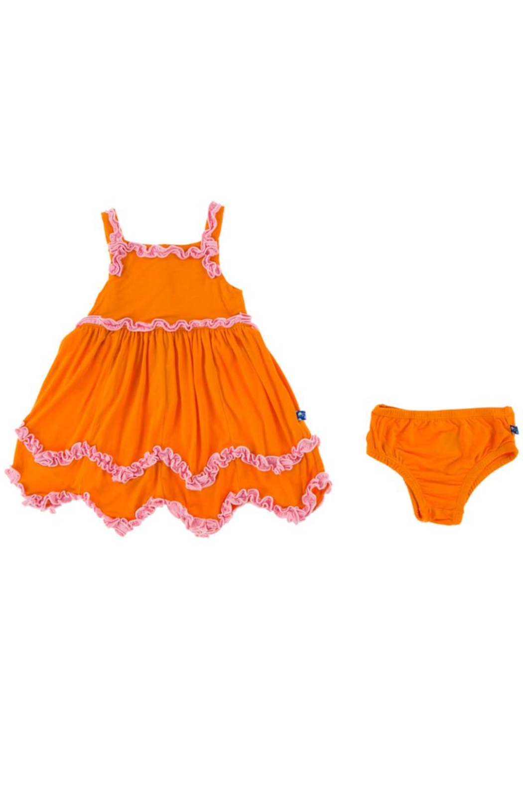 Kickee Pants Sunset Dress & Bloomer-Infant - Side Cropped Image
