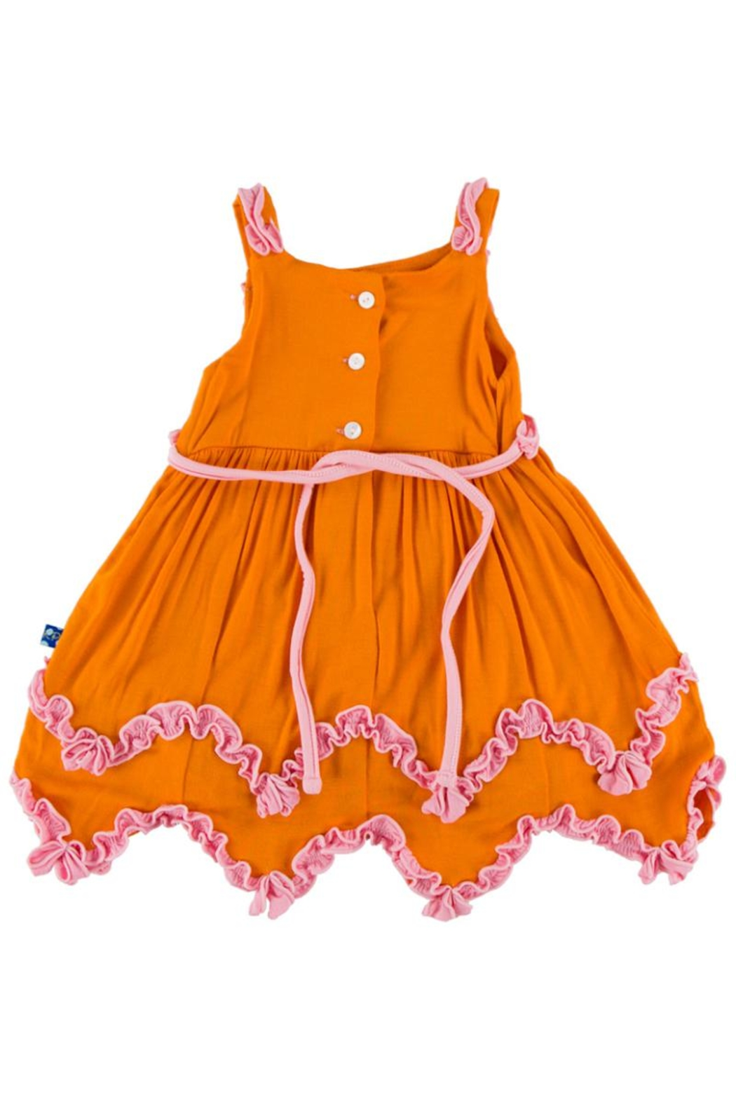 Kickee Pants Sunset Dress & Bloomer-Infant - Front Full Image