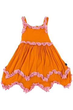 Shoptiques Product: Sunset Ruffle Dress-Romper