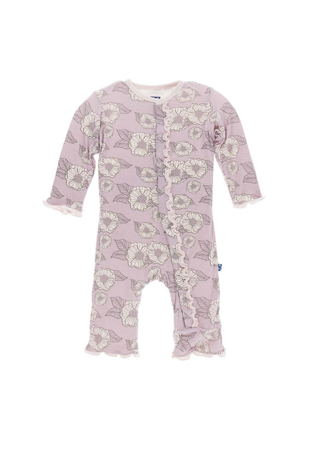 Kickee Pants Sweet Pea Coverall - Front Cropped Image