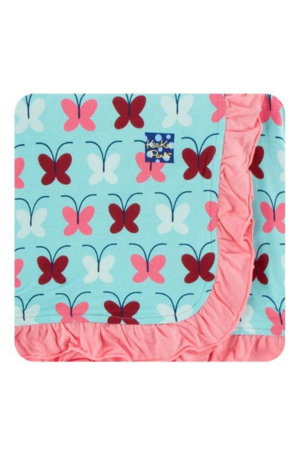 Kickee Pants Tallulah Butterfly Toddler-Blanket - Front Cropped Image