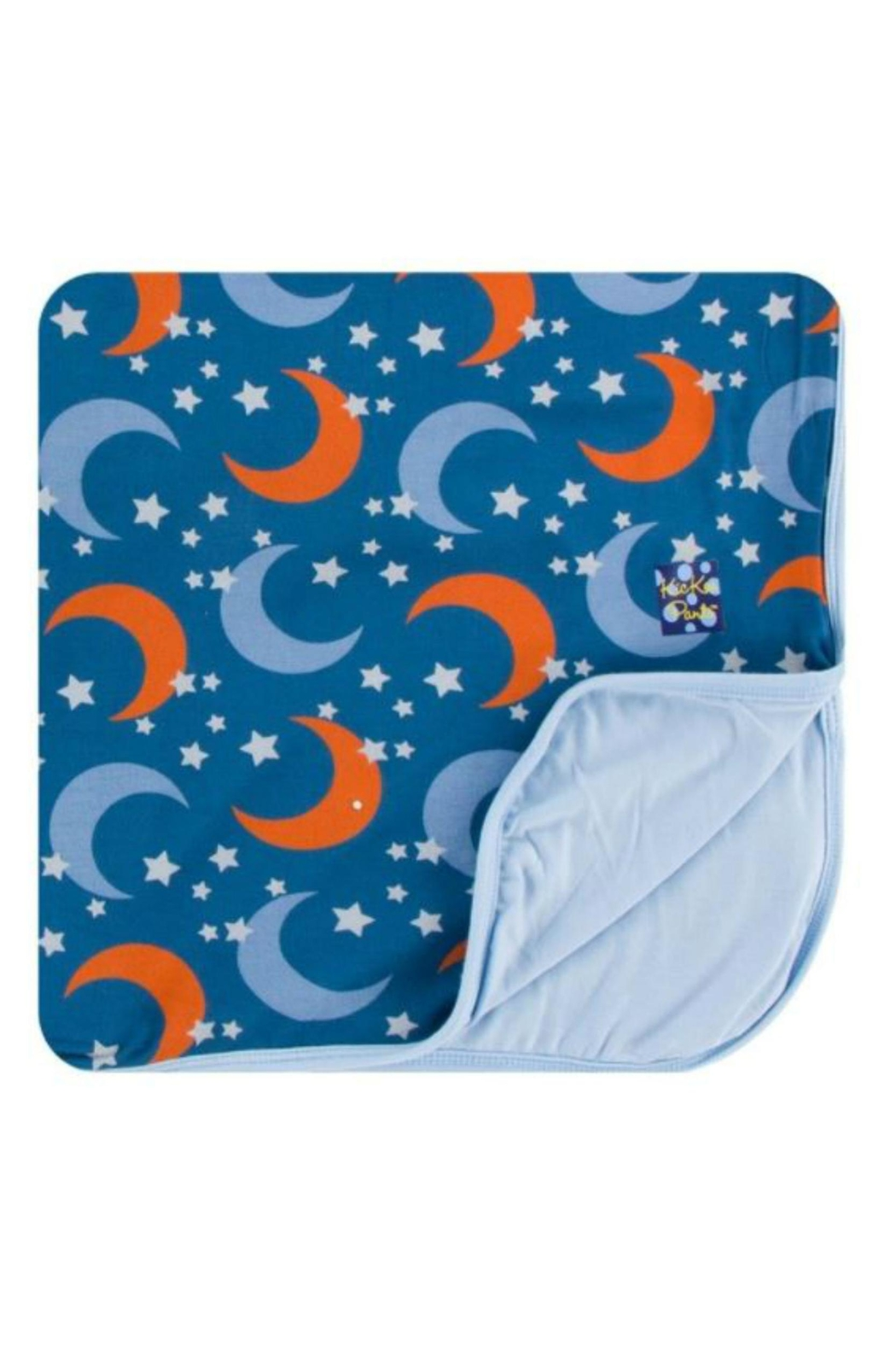 Kickee Pants Twilight Moon Toddler-Blanket - Main Image