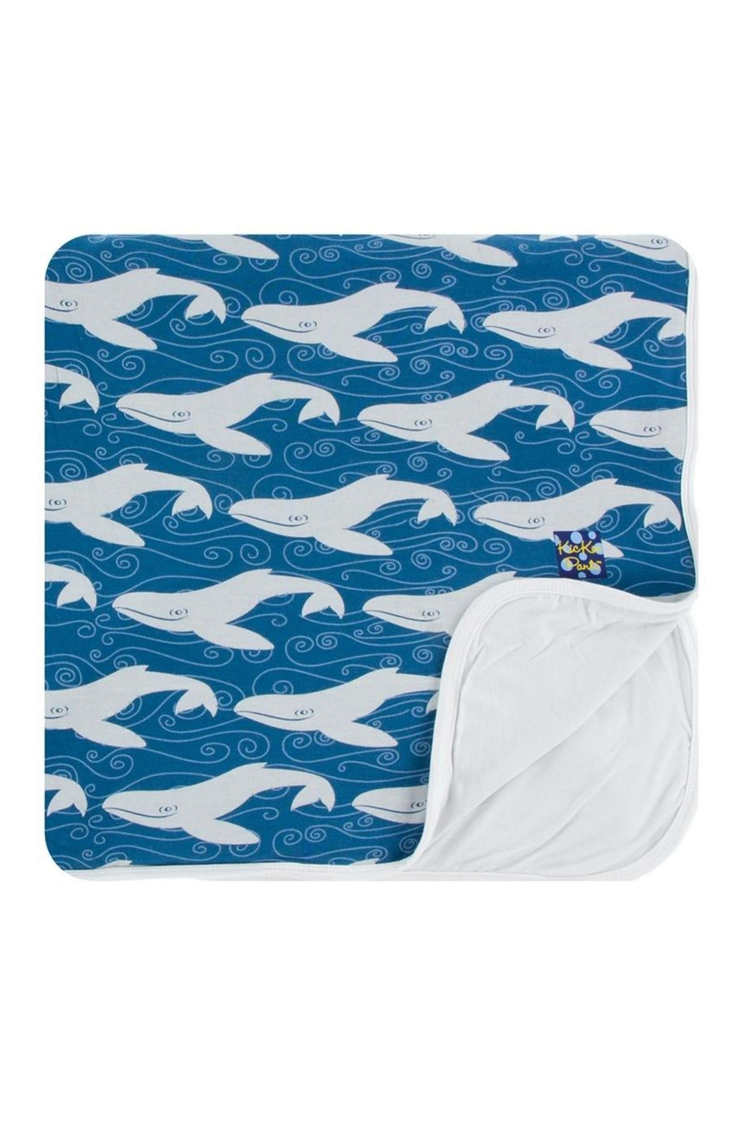 Kickee Pants Twilight Whale Toddler-Blanket - Main Image