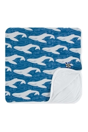 Kickee Pants Twilight Whale Toddler-Blanket - Product Mini Image