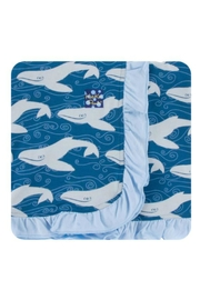Kickee Pants Twilight Whale Toddler-Blanket - Front cropped